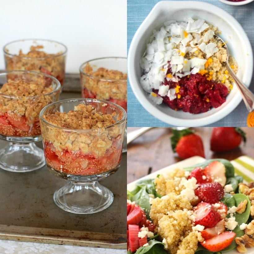 Spring Produce Guide | Rhubarb + More Healthy & Delicious Recipes Starring Spring Produce