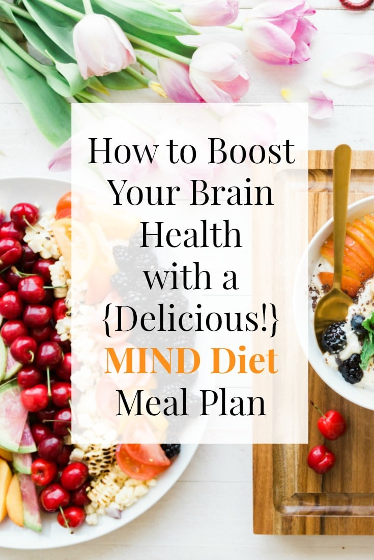 How to Boost Your Brain Health with a {Delicious!} MIND Diet Meal Plan | Recipes + a FREE 3 DAY Healthy MIND Diet Meal Plan at EA Stewart, The Spicy RD