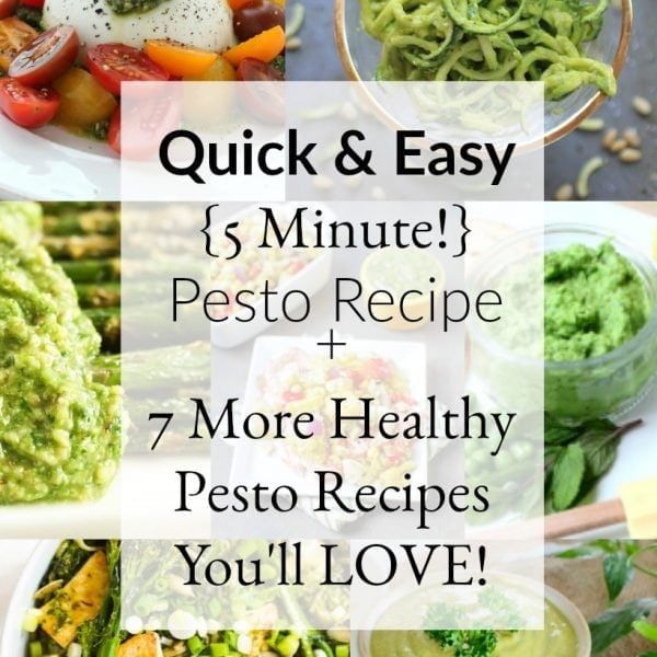 5-Minute Easy Pesto Recipe for Busy Weeknight Dinners