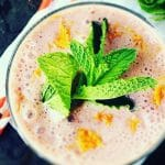 Grapefruit Mint Superfood Smoothie + More Happy Things & Healthy Living Tips
