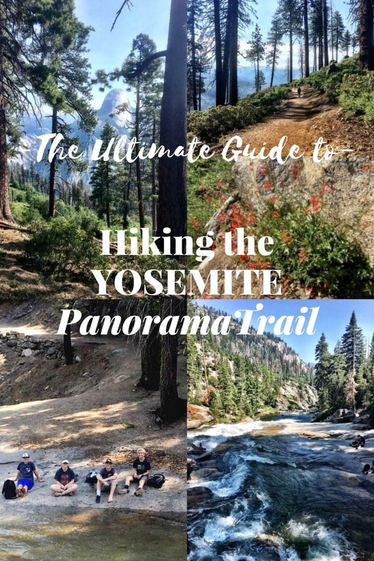 Hiking the Yosemite Panorama Trail is one of the best ways to see Yosemite's most spectacular views and waterfalls ~ all in one day! This step-by-step guide will help you plan your trip starting at Glacier Point, past Illilouette Falls, along the Mist Trail, all the way to the valley floor. #hiking #yosemite #adventuretravel #california #america #wanderlust