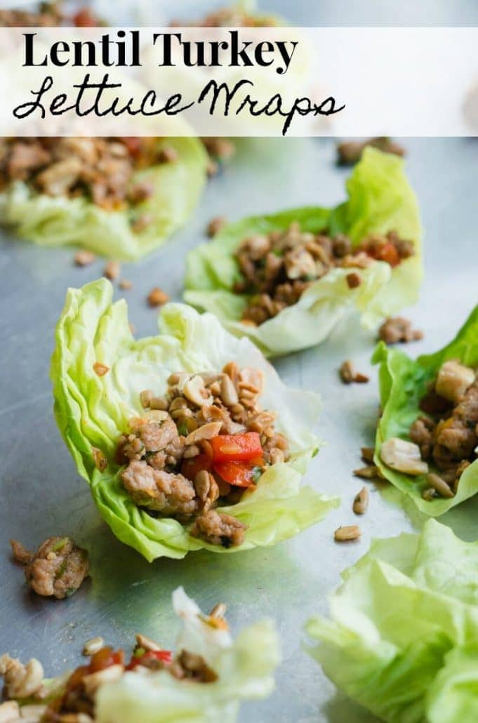 These lentil turkey lettuce wraps are addictively delicious for a healthy meal or snack. They're gluten free, low FODMAP, and easy to make! #SponsoredTravel