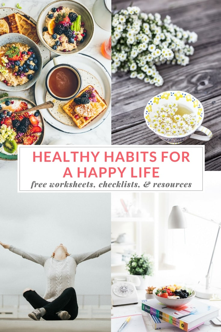 I hope you will find these healthy habits resources & tools helpful. I use them personally, as well as with my nutrition coaching clients. If you have any other favorite healthy habit resources to share, please share your recommendations with me~thanks so much! | EA Stewart, Spicy RD Nutrition