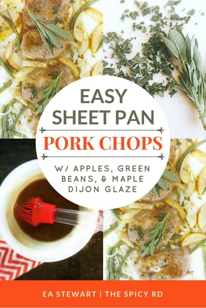 Easy Sheet Pan Pork Chops