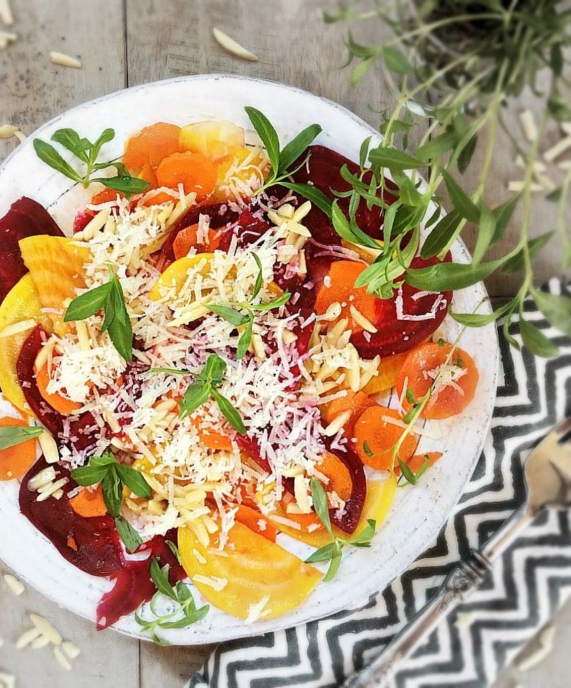 """""""Root-Down"""" Salad from Wild Mediterranean"""