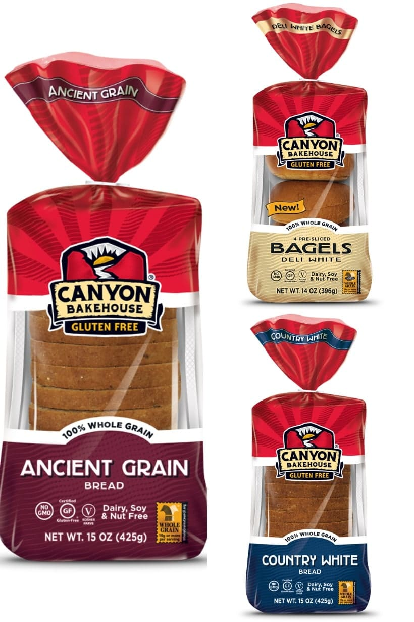 "#AD My family and I love this Canyon Bakehouse Gluten Free Bread because it tastes delicious, and has a great texture, even when it's not toasted. You can find it in ""stay fresh"" packaging now too, so it will keep well in your pantry for up to 90 days. P.S. It's also free of: dairy, nut, soy, casein, preservatives, & artificial flavors/colors/sweeteners."