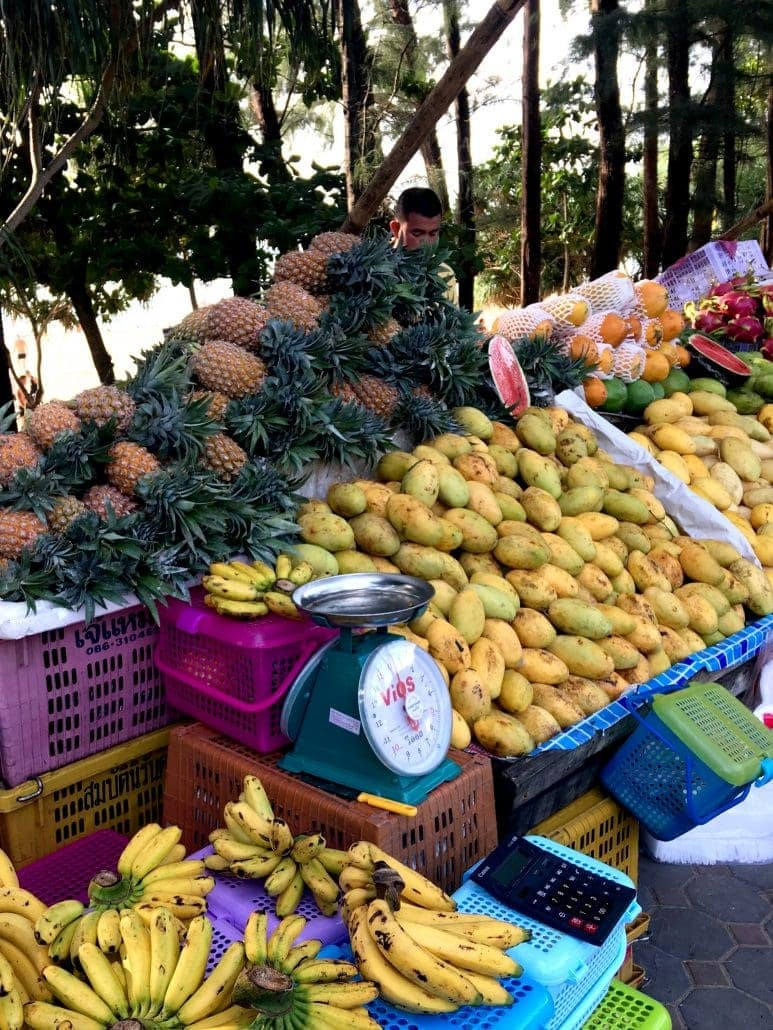 Fruit Stand in Phuket Thailand