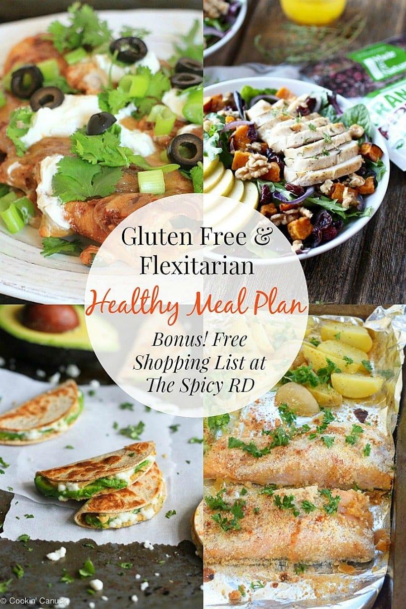 Flexitarian & Gluten Free Meal Plan 2