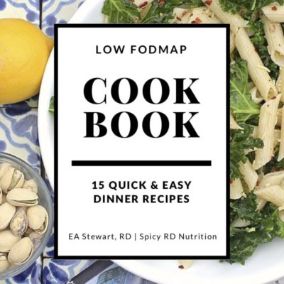 15 Quick and Easy Low FODMAP Dinner Recipes Cookbook Cover