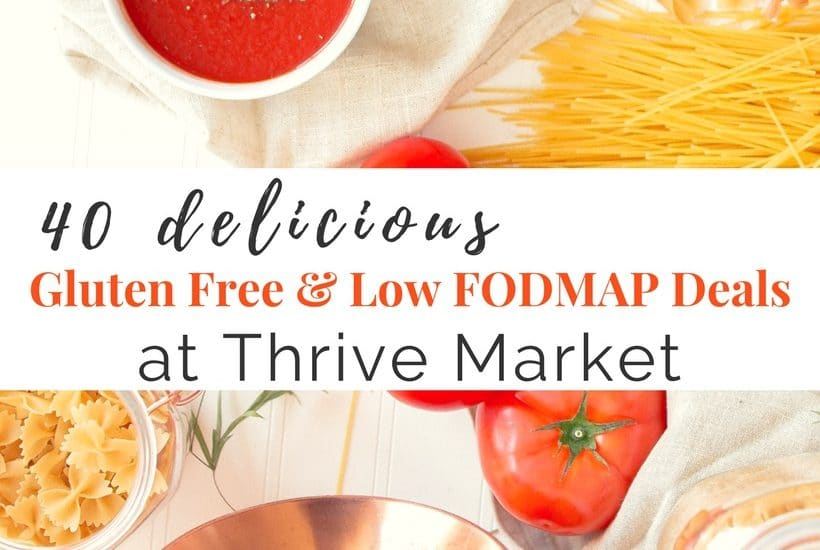 40 Delicious Gluten Free Deals | My Favorite Thrive Market Products