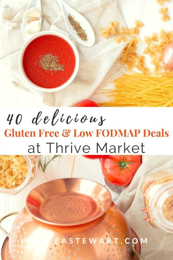 Eat well & save money with these gluten free & low FODMAP deals at Thrive Market. Learn more about how Thrive Market works, and start saving money today!