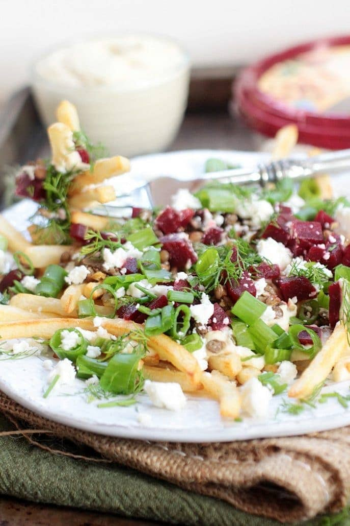 healthy loaded fries