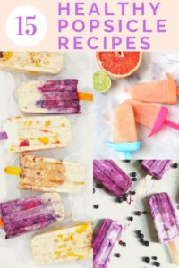 healthy popsicle recipes with fresh fruit
