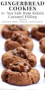 Gluten Free Gingerbread Cookies Pinterest Image