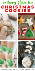 Gluten Free Christmas Cookie Recipes Pinterest Image