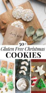 Gluten Free Christmas Cookies Pinterest Image