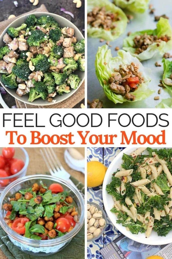 Mood boosting foods to help fight depression.