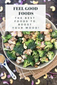 Mood Boosting Foods Pinterest Image
