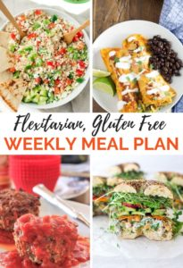 Gluten Free Meal Plan Recipe Collage