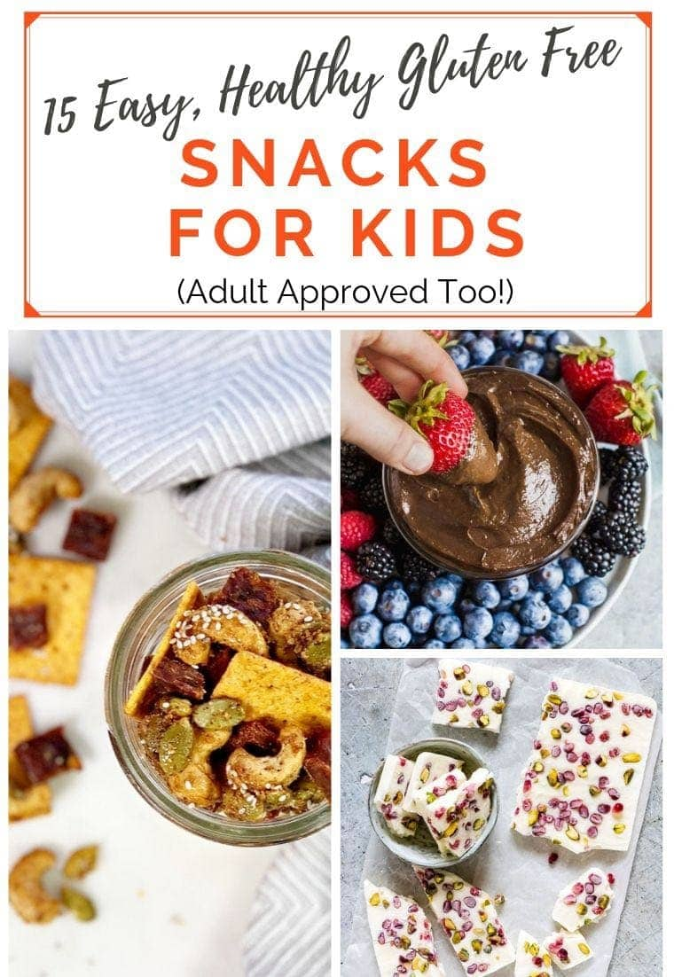 Gluten Free Snacks for Kids Photo Collage