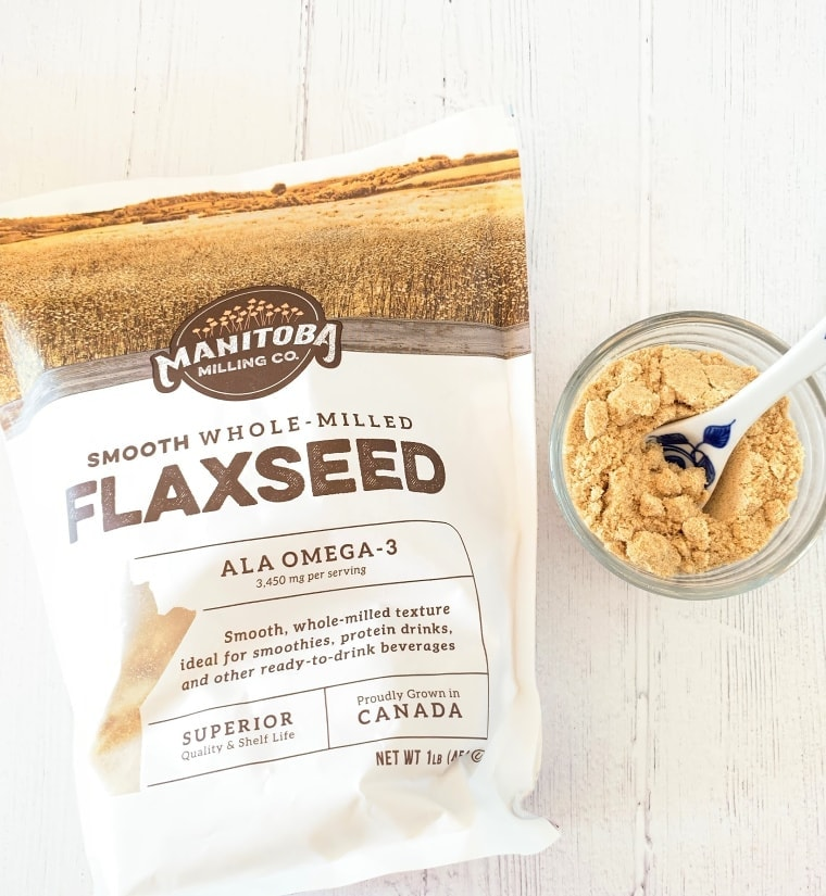 Manitoba Milling Company Smooth Whole Milled Flaxseed
