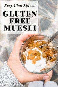 gluten free muesli pinterest image
